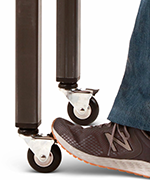 How to Attach Casters to Metal Legs